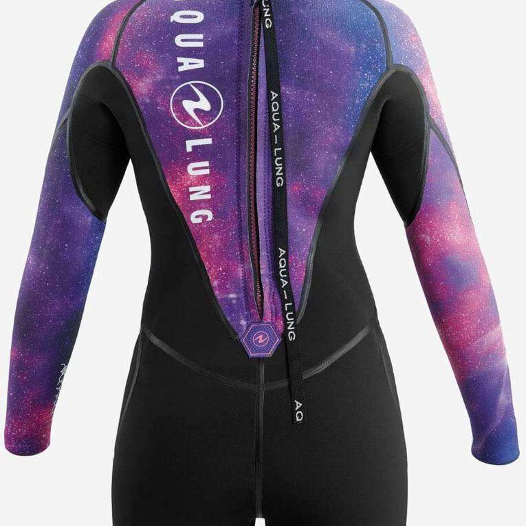 AquaFlex 5mm Wetsuit - Women, Black/Twilight, hi-res image number 3