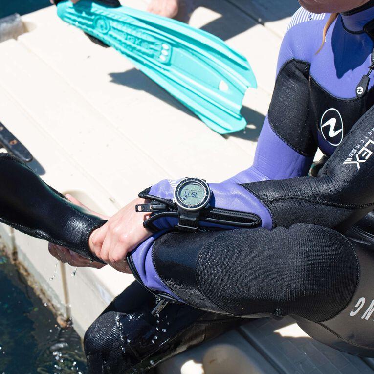 DynaFlex 7mm Wetsuit Women, Black/Purple, hi-res image number 5