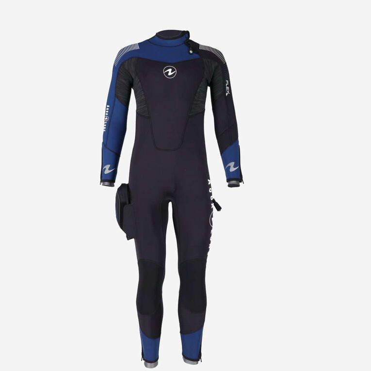 DynaFlex 7mm Wetsuit Men, Black/Navy blue, hi-res image number 1