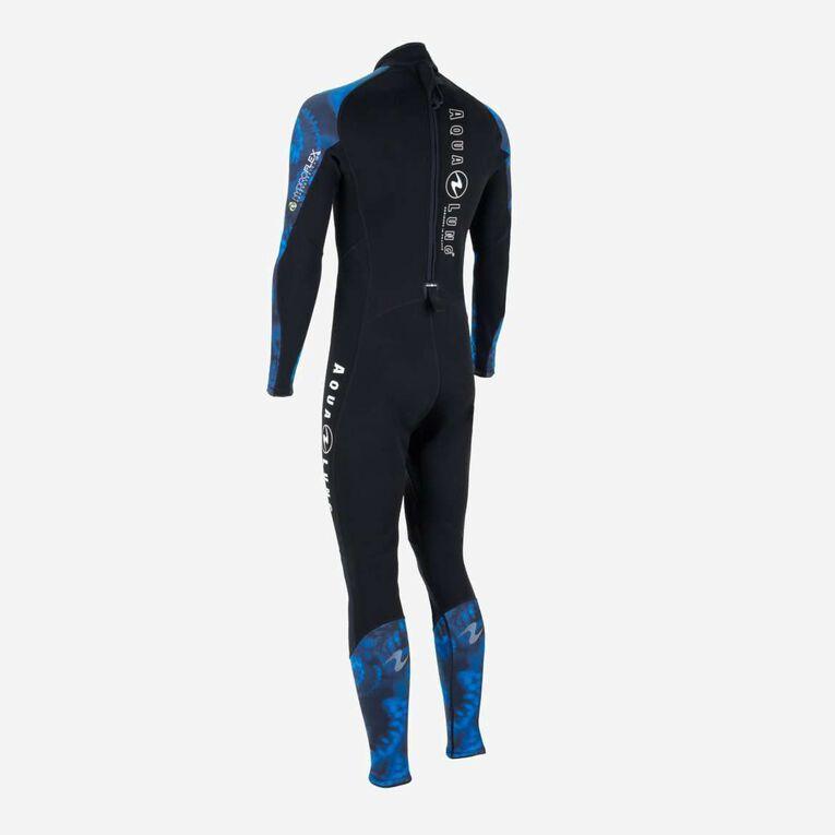 HydroFlex 1mm Coral Guardian Wetsuit Men, Black/Blue, hi-res image number 3