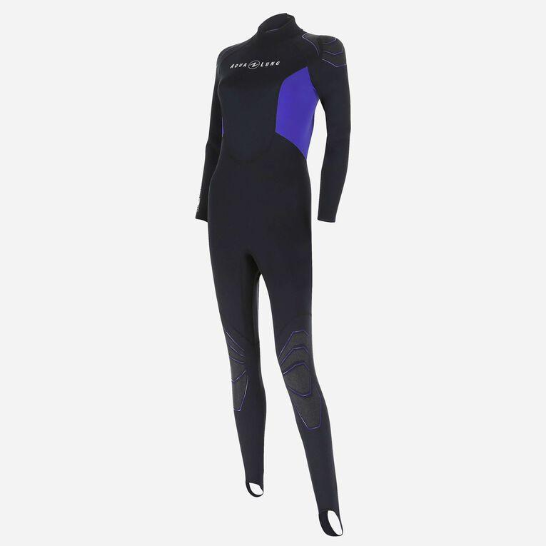 Skinsuit 0,5mm Women, Black/Purple, hi-res image number 1