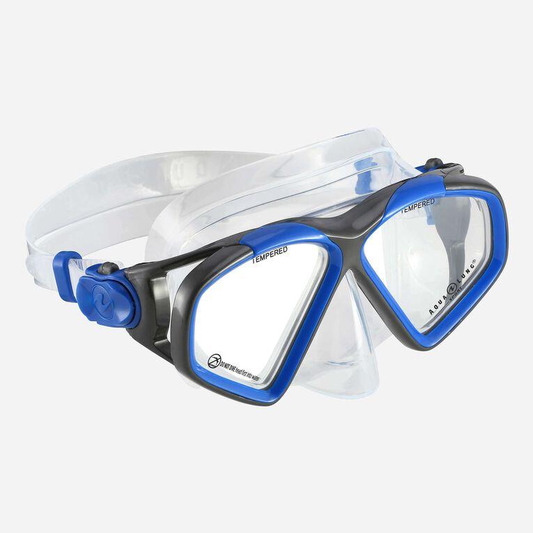 Hawkeye Snorkeling mask, Blue/Dark grey, hi-res image number 0