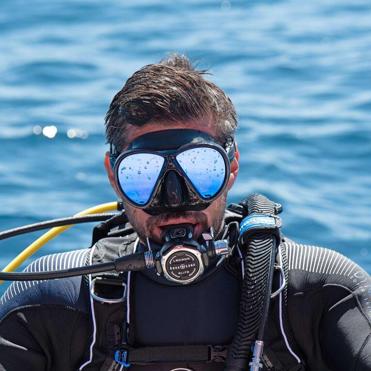 Horizon blue mirror lens, Black/Lenses blue, hi-res image number 2