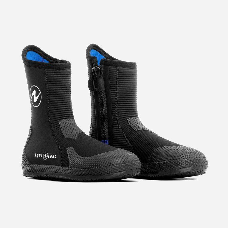 5mm Ultrazip Boots, Black/Blue, hi-res image number 0