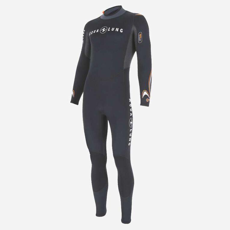 Dive 7mm Wetsuit, Schwarz/Orange, hi-res image number 2