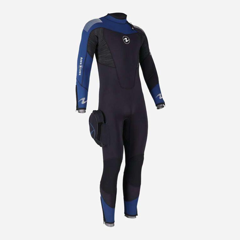 DynaFlex 7mm Wetsuit Men, Black/Navy blue, hi-res image number 0