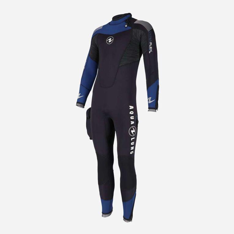 DynaFlex 7mm Wetsuit Men, Black/Navy blue, hi-res image number 2
