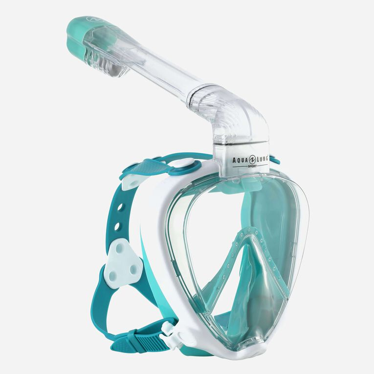 SMART SNORKEL MB, White/Turquoise, hi-res image number null