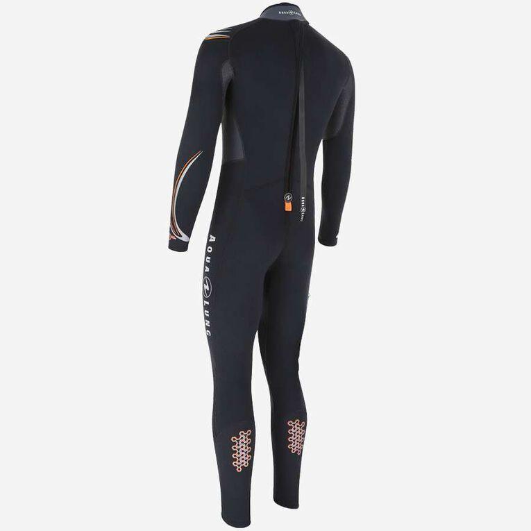 Dive 7mm Wetsuit, Schwarz/Orange, hi-res image number 1