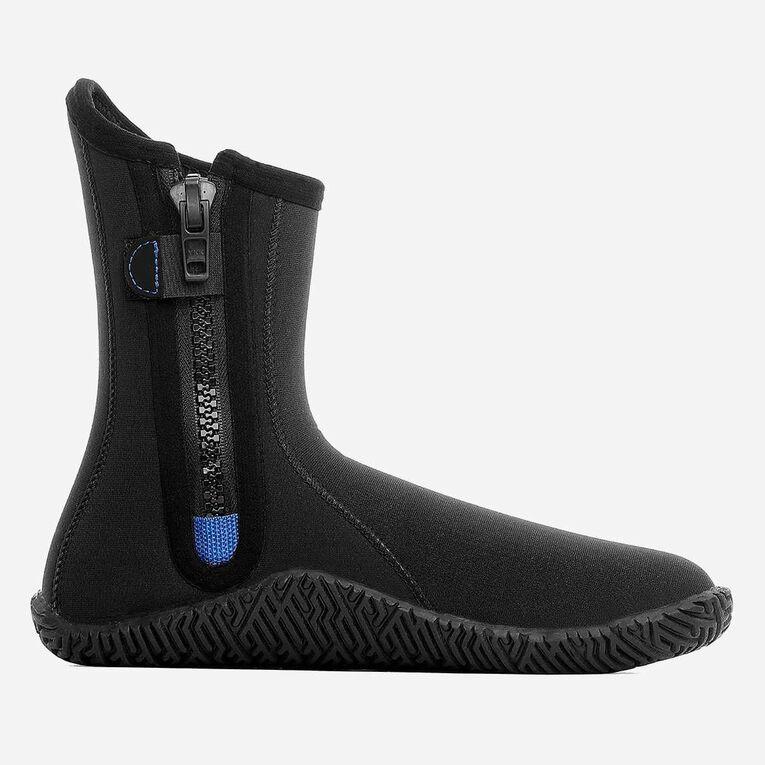 3mm Echozip Boots, Black/Blue, hi-res image number 2